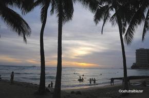sundownWaikikiHawaii
