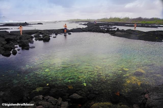 hot pool Puna Hawaii Big Island Trailblazer