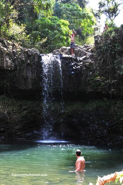 Twin Falls  Hana Highway Maui Trailblazer