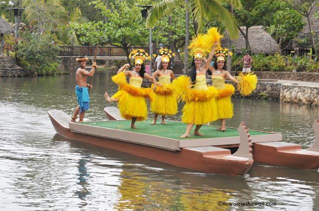 Polynesian Cultural Center Oahu HawaiiOutside