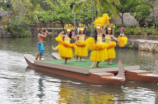 Polynesian Cultural Center Oahu HawaiiOutside