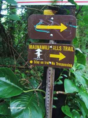 hiking Maunawili Falls trail Hawaii Outside
