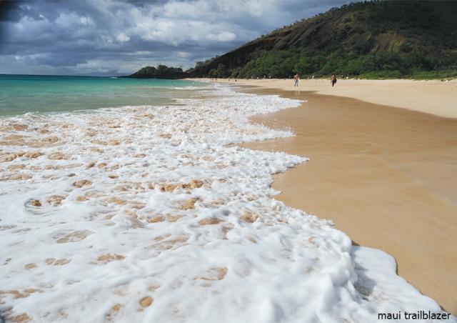 Maui Big Beach Makena guidebook