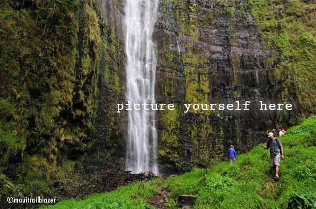 Maui hike waterfall Trailblazer