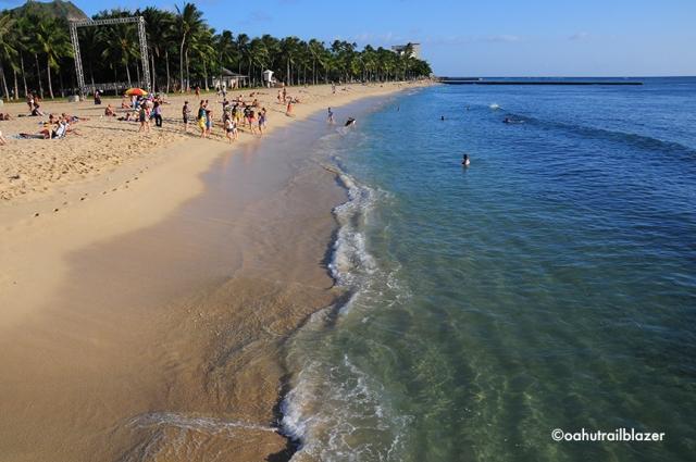 Waikiki Beach  Oahu Trailblazer
