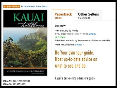 new Kauai Trailblazer guidebook